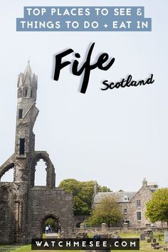 Fife in Scotland is such a beautiful place to visit and travel around! Here are all the different places to go from St. Andrews to Culross and more. #fife #fifescotland #scotlandtravel #standrews #scotland #fifetravel
