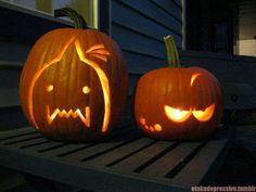 FMA pumpkin. Gonna do this on Halloween!