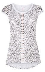 5b667ef9bc27 Look what I found at House of Fraser Leopard Print Top, Karen Millen, Lace