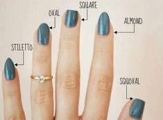 36 amazing manicure hacks you should know - nails - . 36 amazing manicure hacks you should know – nails – # Manicure Hacks Different Nail Shapes, Nail Tip Shapes, Acrylic Nail Shapes, Squoval Acrylic Nails, Nail Shapes Squoval, Types Of Nails Shapes, White Gel Nails, Acrylic Nails Coffin Short, Manicure Y Pedicure