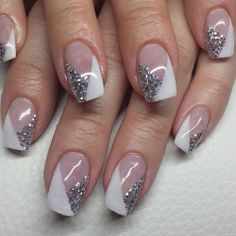 23 ideas for nails art rose degrade Rose Nail Art, Rose Nails, Glitter Nail Art, Nail Art Diy, Nail Tip Designs, Pretty Nail Designs, Beautiful Nail Art, Gorgeous Nails, Stylish Nails