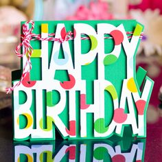 The Stamps of Life: Stamps and Dies - Stamping Supplies - Scrapbooking :: Sizzix Happy Birthday Card Set