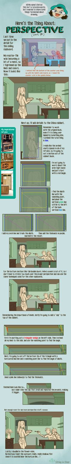 10 Here's the Thing About Perspective by betsyillustration.deviantart.com on @DeviantArt