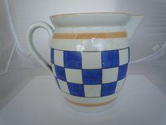 Antique Vintage Czechoslovakian Blue & White by tloveskvintage