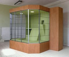 Wesley Meuris, 'Cage for Saimiri Boliviensis' 'Cage for Alopex Iagopus' 'Entrance kit for sculpture garden' Animal Habitats, Contemporary Artists, Art Gallery, Objects, Cage, Sculpture, Home Decor, Scrapbook, Green