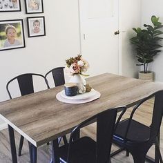 WEBSTA @ thekmartdiaries - The #Kmart industrial table and chairs Regram ➡️ @amandabray_loves