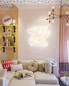 where the H*ll does one buy a neon sign exactly? bc i need one in my life.