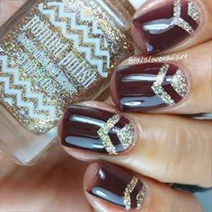 I like this for fall along with a turkey on one of the fingers~