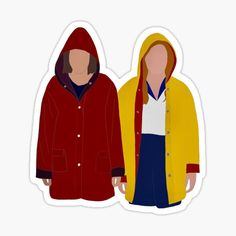 'Eleven & Max - Stranger Things' Sticker by Stranger Things Tumblr, Stranger Things Netflix, Stranger Things Aesthetic, Stickers Kawaii, Cool Stickers, Arte One Direction, Aesthetic Stickers, Vsco, Clueless