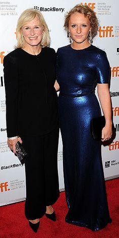 Mama Glenn Close with daughter Annie
