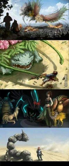 Pokemon just got real B-)