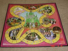 The Wizard of Oz Yellow Brick Road Game | Image | BoardGameGeek