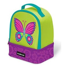 The Crocodile Creek Butterfly Lunch Box is a beautifully-designed, sturdy & high-quality lunch box.