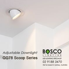 BoscoLighting Adjustable Recessed Downlight are designed to highlight important goods or display such as in gallery, retail shops or museums. Made from high quality materials, it is very easy to install and maintain. Please contact us for more info! Recessed Downlights, Reception Areas, Retail Shop, Museums, Light Up, Highlight, Shops, Ceiling Lights, Display
