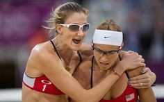 Walsh and May-Treanor Win Third Olympic Gold in Women's Beach Volleyball