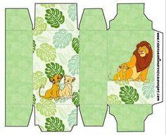 Rei Leão (Lion King) - Kit Completo com molduras para convites, rótulos para guloseimas, lembrancinhas e imagens! - Fazendo a Nossa Festa