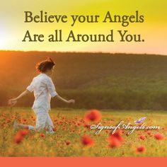 Often we feel lost and alone. The truth is, your Angels are always there. Ask for signs - they will send them. ~ Karen Borga, The Angel Lady     #signsofangels #inspiration #angels #angelquotes #karenborga