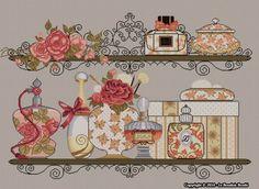 LBB - Eau de Paris - Kit embroidery cross stitch