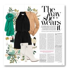 """""""Shorts Jumpsuit"""" by prep-love on Polyvore featuring Rifle Paper Co, J.Crew, Zimmermann, Toast, Kenneth Jay Lane, Kate Spade, NARS Cosmetics, Essie, Chanel and Gianvito Rossi"""