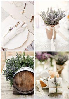 Flores para boda La Lavanda