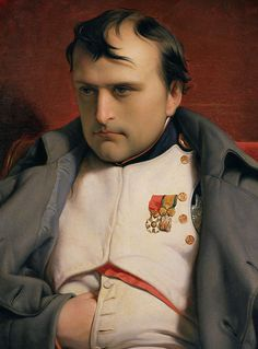 Napoleon Bonaparte: French general and emperor. Conquered much of Europe in the early and died of cancer in exile on the island of St. Napoleonic Code, Napoleonic Wars, Conquistador, Military Art, Military History, Napoleon Josephine, Empress Josephine, Adele, Battle Of Waterloo