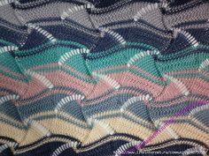 lo vi, me gustó, lo comparto: puntos missoni Knitting Charts, Lace Knitting, Knitting Stitches, Knitting Patterns Free, Knit Crochet, Crochet Stitches Patterns, Stitch Patterns, Missoni, Yandex Disk
