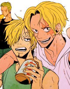 Zoro, Sanji, and Sabo    _One Piece