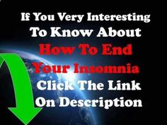 How To Get Great Night\'s Sleep - How To Cure Insomnia Part 1 - Learn How to Outsmart Insomnia! CLICK HERE! #insomnia #insomniaremedies #sleeplessness How To Get A Great Night's Sleep – How To Cure Insomnia Part 1 Best Way To End Your Insomnia , Click this To order now, Click this 10 Steps To Help You Get A Great Night's Sleep 1. Make a... - #Insomnia