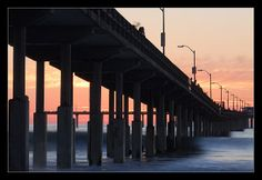 Diagonals: see how the bridge makes a striking diagonal line?