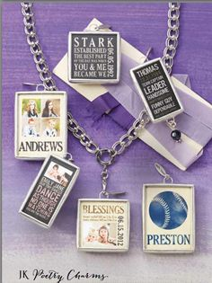 Create a Poetry Custom Canvas today and select designs may also be transformed into a unique piece of jewelry.