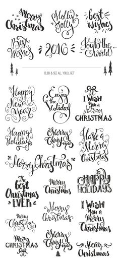 Handdrawn Christmas Photo Overlays by Favete Art on @creativemarket Trendy graphic design art for a merry christmas, perfect for decorations, crafts, pictures, gifts, DIY, cards or simple for ideas and inspiration.Shop Here: https://crmrkt.com/11AAX5