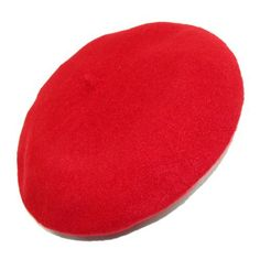 Women's French Wool Colored Beret (Red) Dream World. $9.60. Colored beret for women made from a versatile acrylic. Perfect accessory for travel, compact and versatile for all occasions. acrylic. Light weight and soft to the touch. Can be worn to the traditional sense, or covering your ears for warmth