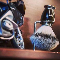 Good morning from your neighbourhood barber shop! [photo by Greg Robins] #barbershop #badgerbrush #bike #yaletownbarbers #mensgrooming #yaletown #vancouver #barbershops Read more at http://web.stagram.com/n/barberboss/#ExBSpMf7PFfd42oI.99 Shelley Salehi -@Farzad Bagheri's Barber Shop Instagram photos | Websta