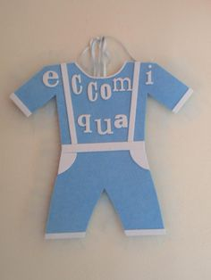 Coccarda nascita a forma di vestito bimbo https://www.facebook.com/IL-Pensiero-Creazioni-Artigianali-308024965911130/?ref=bookmarks