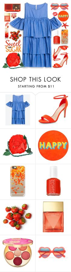 """Sweet as sugar"" by doga1 ❤ liked on Polyvore featuring New Look, Emanuel Ungaro, Lisa Perry, Casetify, Essie, Belvedere, Michael Kors, tarte, Cutler and Gross and NYX"