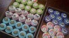 mini cupcakes decorados - tema alice no pais das maravilhas