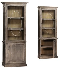 Charmant DOV3458 Tall Cabinets, Open Cabinets, Glass Shelves, Display Shelves,  Bookcases For Sale