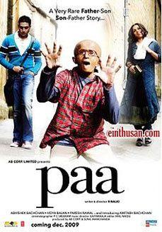 Paa Hindi Movie Online - Amitabh Bachchan, Abhishek Bachchan and Vidya Balan. Directed by R. Balki. Music by Ilaiyaraaja. 2009 Paa Tamil Movie Online. hindi-movies-online