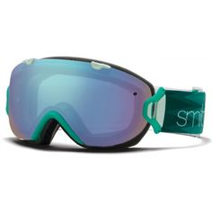 7383b54ccab The Smith I OS Jade Omega women s snow goggles give you a wide