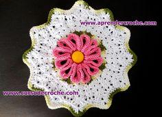 motivos em croche floral apolo