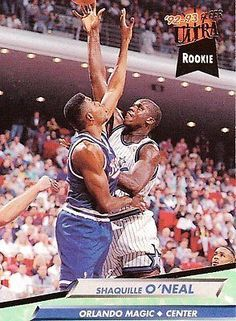1992 - 1993 Fleer Ultra Shaquille O Neal Orlando Magic  328 Basketball Card  Shaquille O 1c7c6c1f1