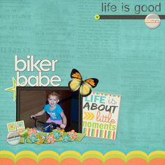 Biker Babe by carsmom53