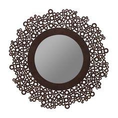 Cooper Classics Tyler Wall Mirror - 15 diam. in. Item#: HN-COOP648
