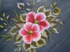 one stroke apple flower