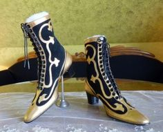Antique boots 1910