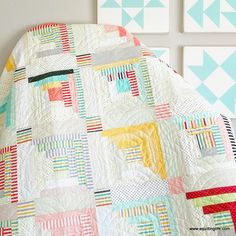 More Spring Quilts: Sew Scrappy | A Quilting Life - a quilt blog
