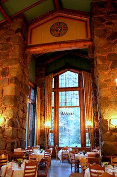 The Ahwahnee dining room alcove