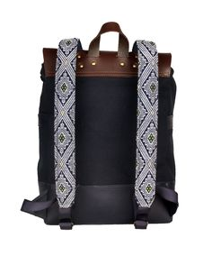 Discover Mexican Culture Through our unique Backpacks Handcraft item Materials: Genuine Long Lasting Durable Leather, Handmade Natural Leather, Metal Buckles, loom made in Chiapas. *Includes a repair kit for the leather Unique Backpacks, Metal Buckles, Natural Leather, Loom, Mexican, Culture, Belt, Handmade, Accessories