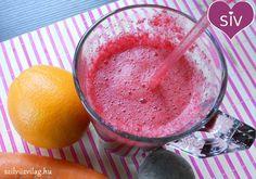 Cékla-répa-narancs turmix (smoothie) Vegan Life, Cocktail Drinks, Ketchup, Milkshake, Grapefruit, Smoothies, Icing, Juice, Food Porn