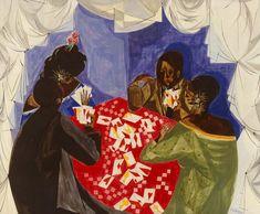 Jacob Lawrence Genesis Creation Sermon Giclee Canvas Print Paintings Poster Repr